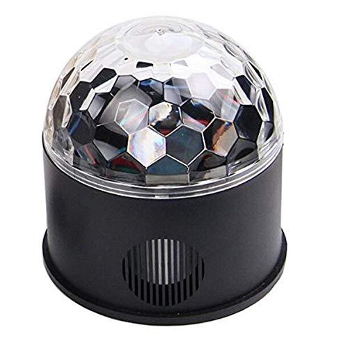 er 9 Farbe Spiegel Ball Rotierenden Licht Partei Disco Ball Projektor Bühne Lichteffekt Drahtlose Telefon Verbindung ()