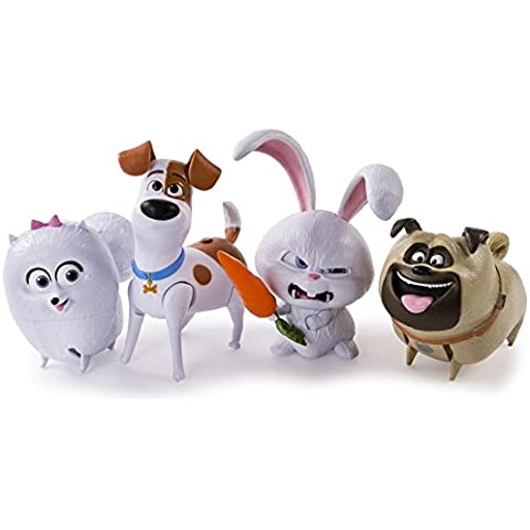 La vita segreta di animali domestici Walking Talking Pet Figura – Assortimento