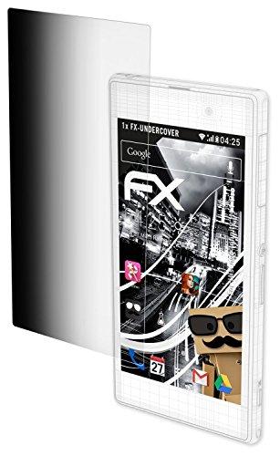 atFolix Blickschutzfilter für Hisense Infinity H11 Pro Blickschutzfolie, 4-Wege Sichtschutz FX Schutzfolie