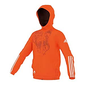 adidas Locker Room Team X Trainingskapuzenjacke Kinder 164