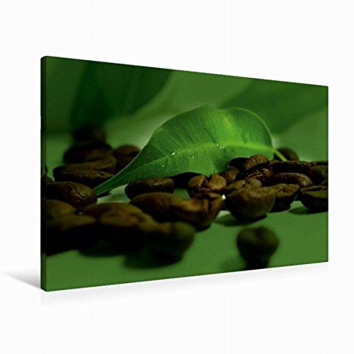 Premium Textil-Leinwand 90 cm x 60 cm quer Kaffee Impression | Wandbild, Bild auf Keilrahmen, Fertigbild auf echter Leinwand, Leinwanddruck (CALVENDO Lifestyle) (Kaffee-haus-sammlung)