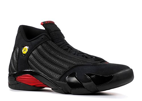 Nike Air Jordan 14 Retro 'Last Shot' Herren Sneaker Schwarz, Größenauswahl:43 -