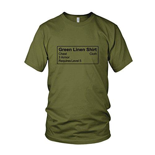 Shirt Item - Herren T-Shirt, Größe: M, Farbe: (Kostüm Lich King Rüstung)