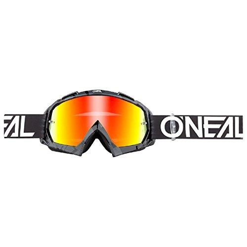 Maschera O NEAL B-10 PIXEL Nero/Bianco Radium 2018