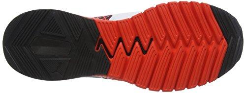 Puma Herren Ignite Dual Proknit Laufschuhe Rot (Red blast-puma black-puma White 01)