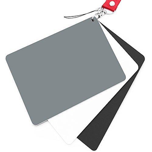 "Anwenk grau Karte, Weiß Balance Karte 18{c3f1db9371f3db76010d8e60d1f7877762e5e9683889724cac32e04a6289b570} Exposure Fotografie Karte Custom Kalibrierung Kamera Checker Video, DSLR und Film, 5.3\""x 7.28\"""