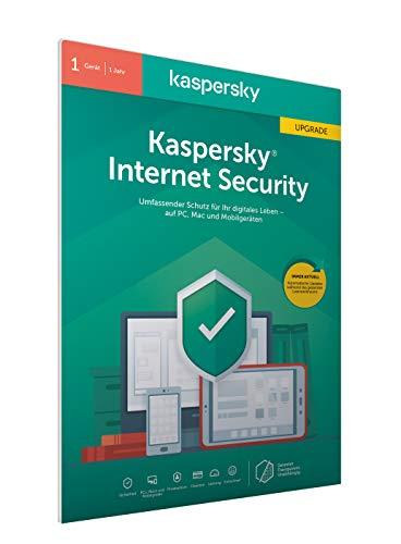 Kaspersky Internet Security 2020 Upgrade | 1 Gerät | 1 Jahr | Windows/Mac/Android | Aktivierungscode in frustfreier Verpackung