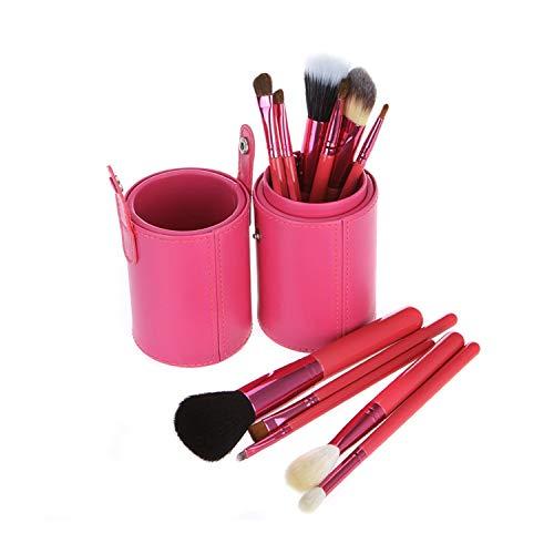 LEEQ Make-up-Pinsel-Set 12 Foundation Eyeliner Augenbrauen Lip Pinsel Tools Cosmetics Kits mit...
