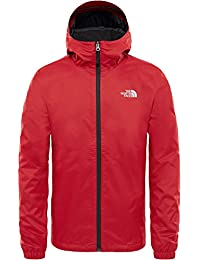 The North Face, Quest, Giacca a Vento Softshell, Uomo, Rosso (Rage Red), L