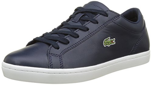 Lacoste Sport Straightset Bl 1 SPW, Sneaker Donna, Blu (Nvy), 38 EU