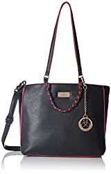 Ladida Ladida Collection Womens Satchel with Pouch (Black) (2017-50 BLACK)