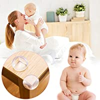 Advanced Safety Corner Protectors Guards (20pcs - Large - Clear) Table Corner Guards for Child and Baby, 2019 Corner Furniture Corner Protectors Super Strong Adhesive Tape