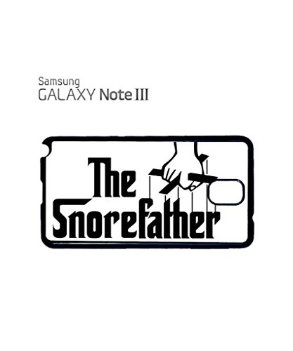 The Snore Father Cool Funny Hipster Swag Mobile Phone Case Back Cover Coque Housse Etui Noir Blanc pour Samsung Note 2 White Noir