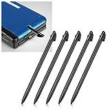 5pc Black Plastic Stylus Touch Pen For Nintendo 3ds N3DS XL LL
