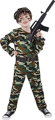Rubies Soldado Disfraz para niños, L (8-10 años) (S8316-L)