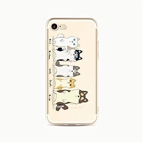 KSHOP Bumper iPhone 7 Plus 5.5 Case Silicone Gel slim