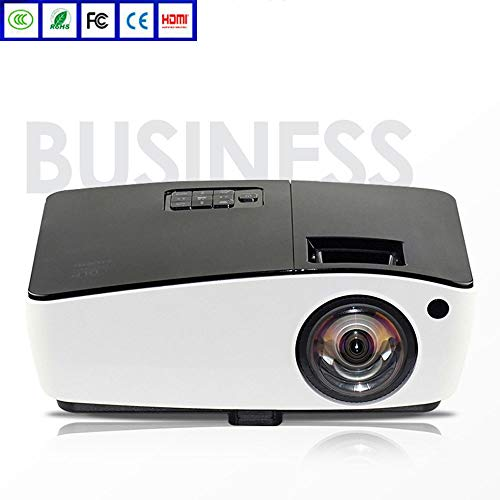 "Heimprojektor, Leisure Business 1024P Full HD Projektor mit 4000 Lux, Video-Projektor mit 300""Projektionsgröße, Support 1080P HDMI VGA AV USB"