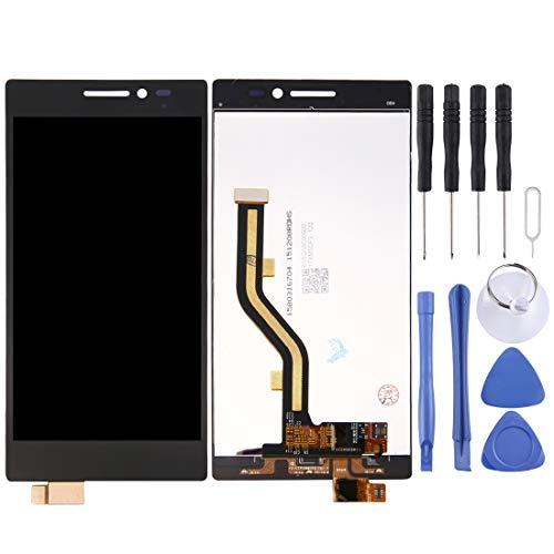 YCZLZ Display-Touch Screen für Lenovo Handy-Zubehör LCD-Bildschirm und Digitizer Vollversammlung for Lenovo Vibe X2 (Schwarz) + Tools (Farbe : Black)
