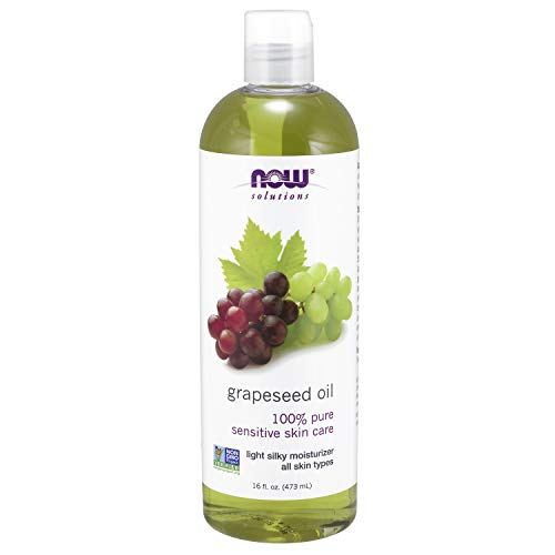 Now Foods Solutions I Grape Seed Oil (Traubenkernöl) I Zur Hautpflege I 473ml flüssig -