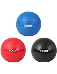 Slam Ball Balón Medicinal 3 - 20 kg - Ideal para ejercicios de entrenamiento funcional - (10 kg / Blu)