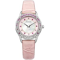 OASIS Damen-Armbanduhr Analog Quarz Kunststoff B1457