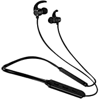 Xmate Mana Sports Wireless Bluetooth Earphone with Immersive Stereo Sound and Hands FreeMic - (Black)