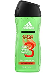 Adidas Gel douche Active Start 6 * 250 ml