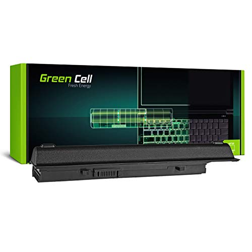 3500 Serie Notebook Laptop (Green Cell Extended Serie 7FJ92 Y5XF9 Laptop Akku für Dell Vostro 3400 3500 3700 (9 Zellen 6600mAh 11.1V Schwarz))