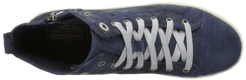 s.Oliver Casual 5-5-25206-22 Damen Sneaker Blau (Navy Camouflag 871)