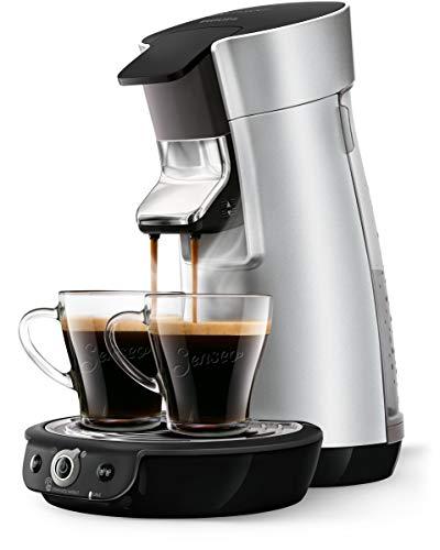 Senseo HD6566/10 Viva Café Duo Select Kaffeemaschine, 0,9 l, Edelstahl, silberfarben