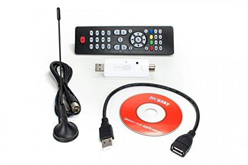 DVBSky T330 USB Empfänger mit DVB-T2 / DVB-C Hybrid Tuner für Windows, Linux, Raspberry Pi, etc oder als Erweiterungstuner für Linux DVB Receiver
