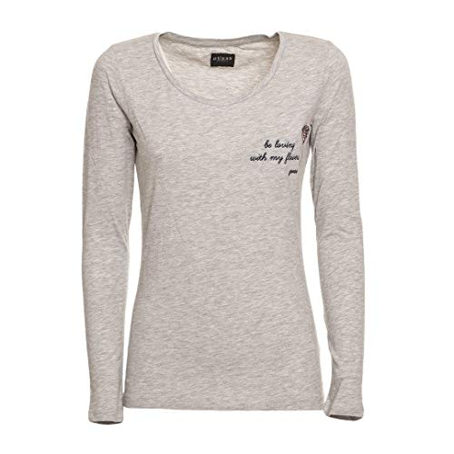 Guess Damen T-Shirt Longsleeve Grau 074102 (S)