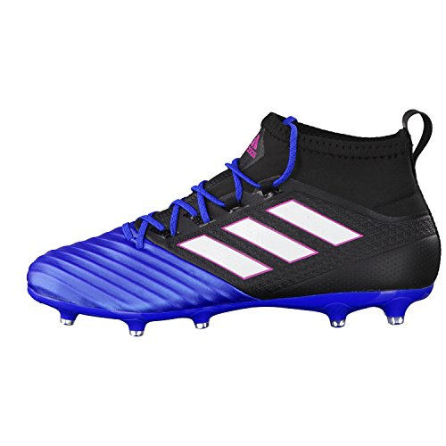 adidas Ace 17.2 Primemesh, Chaussures de Futsal Homme, Red/FT Noir (Core Black/ftwr White/blue)