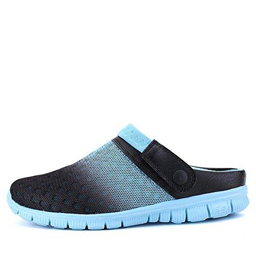 Jardim Sapatos Bwiv Fácil De sacos Impermeáveis Sapatos Único Ambiente Chinelo Entope Do Amigo Homens Azuis Sapatos Com Eva Banho Mulheres 6Xnrw8X