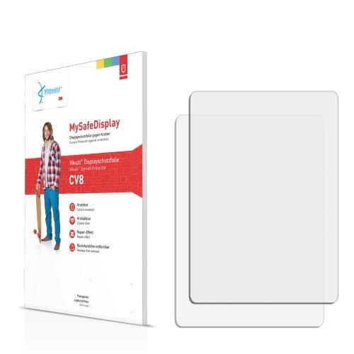 2x Vikuiti MySafeDisplay Displayschutzfolie CV8 von 3M passend für Samsung SGH-D500