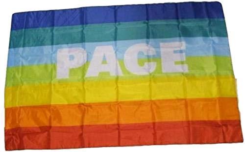 R&f srls bandiera pace pacifista manifestazione tessuto misura standard 90 x 150 cm