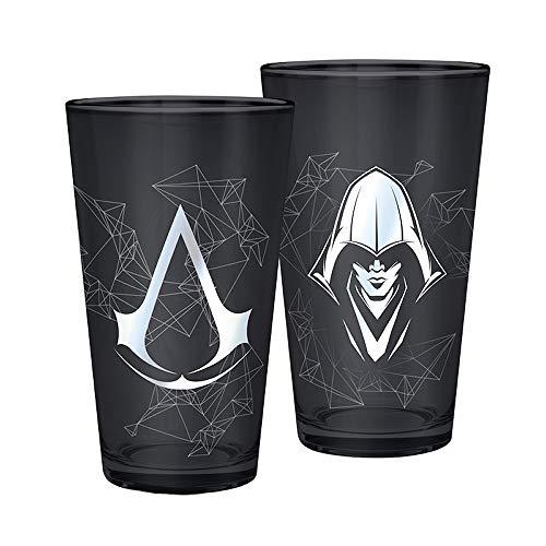 Assassin's Creed - Logo - XXL-Trinkglas - 500 ml - Offizielles Merchandise von Ubisoft