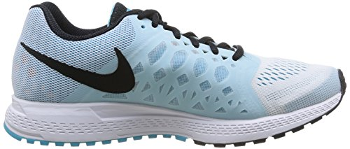 Nike Air Zoom Pegasus 31, Running Entrainement Femme Blanc (white/black-clearwater-antarctic)
