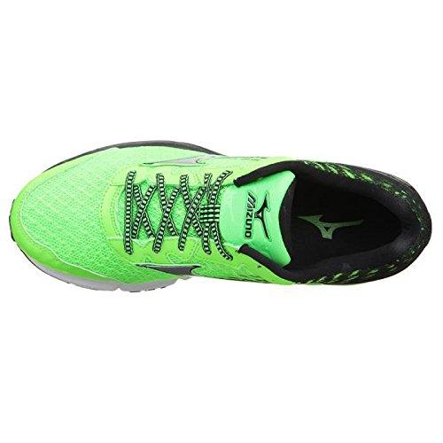 MIZUNO Chaussures de Running Wave Rider 19 Homme 41 - Taille - 41 Noir