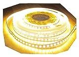 2660 Lumen 5m Led Streifen 600 LED warmweiß 12Volt ohne Netzteil von AS-S