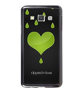 Printvisa Ultra Dipped In Love 2D Hard Polycarbonate Designer Back Case Cover for Samsung Gal...