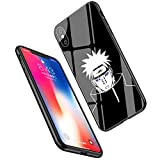 LiangChu 9h Le Verre trempé iphone 7 Plus / 8 + Cas, LC-1 Akatsuki Pein Konan Conception Impression antichocs Silicone Anti - zéro Mou pour Apple iphone sur téléphone tpur et 7 Plus / 8