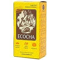 Carbón natural para shisha Ecocha (96 piezas) 100% orgánico