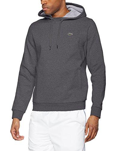 Lacoste Herren Sweatshirt Gris (Bitume/Argent Chiné)