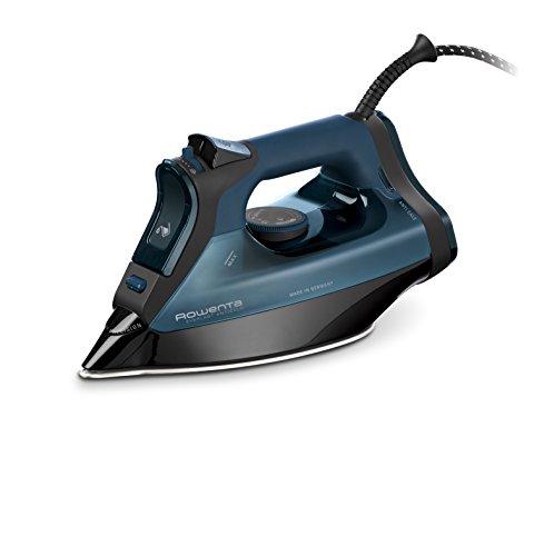 Rowent Everlast Antical DW7120D1 - Plancha de vapor 2800 W, recolector de cal y función antical, golpe vapor de 200 g/min y constante de 50gr/min, suela Microsteam 400 HD Láser antigoteo, Modo Eco