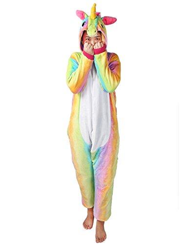 Pigiama Donna Uomo Unicorno Cosplay Animato Costume Camicie da Notte Carnevale Halloween-Très Chic Mailanda