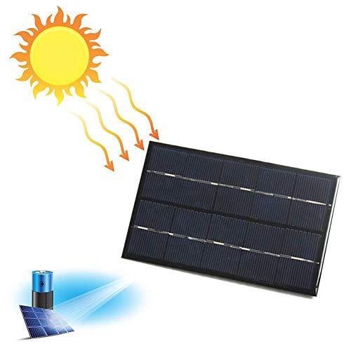QueenHome Solar Ladegerät 2W USB SunPwer Solar Panel Handy Ladegerät Mit Solarpanel Tragbare Externer Akku Solar Externer Akku Solar Ladegerät Für Auto Yacht RV Lampe Aufladen 5V