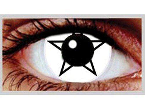 LENTI A CONTATTO GIORNALIERE colorate PENTAGRAM occhi con stella eyecasions