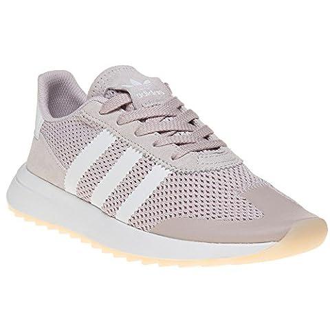 Adidas Originals Trainers - Adidas Originals Flashback Shoes - Ice Purple /White/Ice Purple