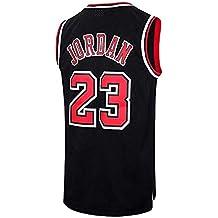 Runvian Jersey de Hombre, NBA Michael Jordan, Chicago # 23 Bulls Retro Camiseta de
